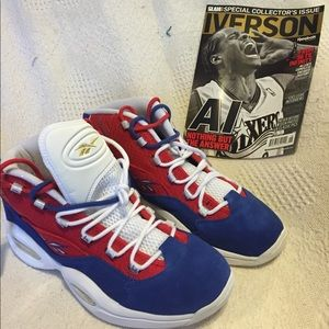 MENS IVERSON QUESTION SNEAKERS SIZE 12